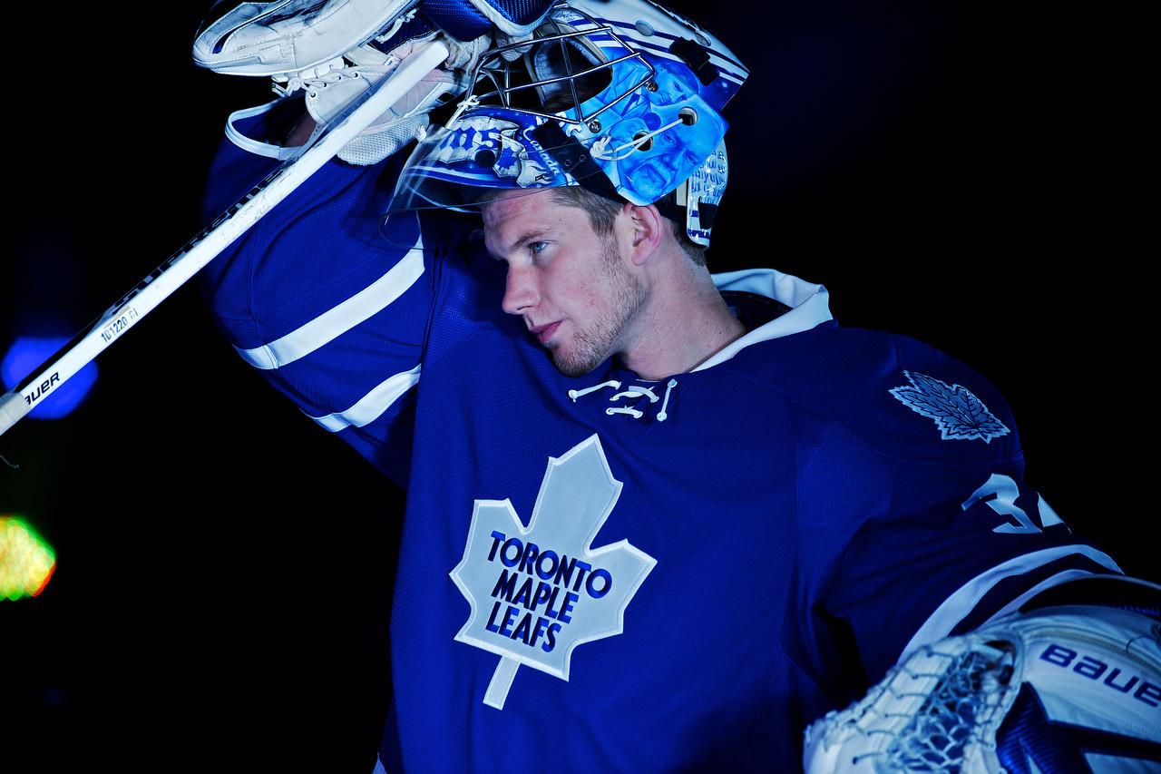 Leafs Media Day 2011 - Sportsnet Set