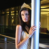 Miss DC United States 2009 at Newseum terrace