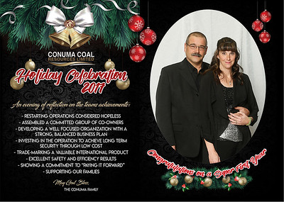 Conuma Christmas Party Chetwynd December 16