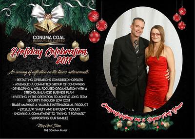 Conuma Christmas Party Tumbler Ridge December 15