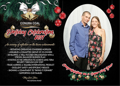 Conuma Tumbler Ridge Party December 9