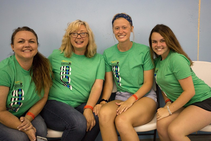 Portraits: Athletes, Volunteers, and Families,  Summer Games Swimming 2018