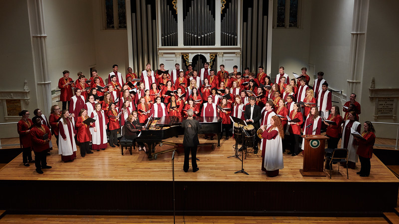 Florida State University Singers with Lenoir–Rhyne University A Cappella Choir