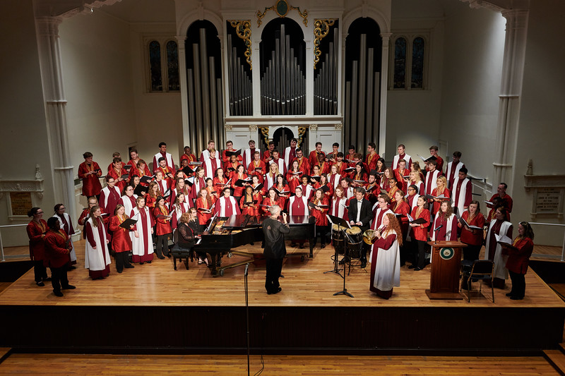 Florida State University Singers with Lenoir–Rhyne University A Cappella Choir