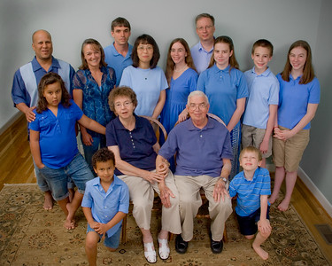 Blanchard/Cox Family, <br>April 2010