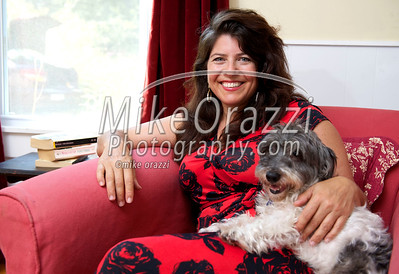 Author and feminist Naomi Wolf photographed in her Millerton, New York home by Mike Orazzi on Thursday, August 23, 2012.