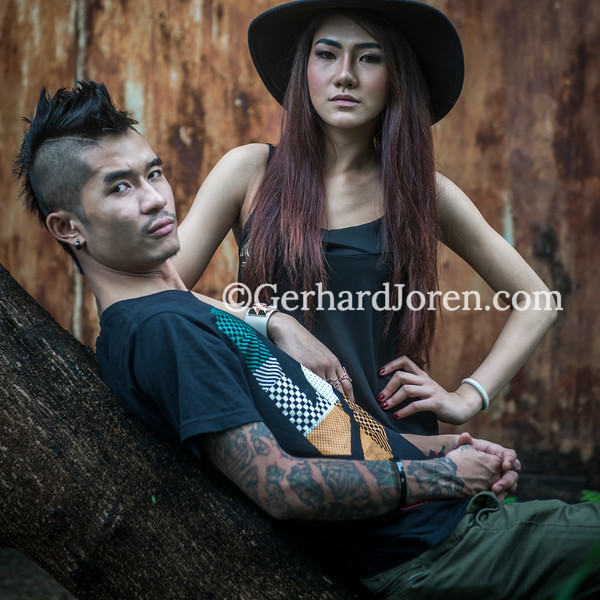 Raymond, Valerie, musicians, Yangon