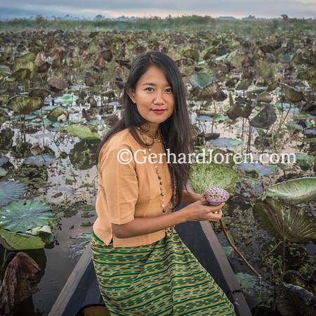 Yin Myo Su, environmentalist, Inle Lake, Myanmar