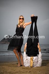 Sofia Wallin, model, Alexander Medin, yoga teacher, Hong Kong
