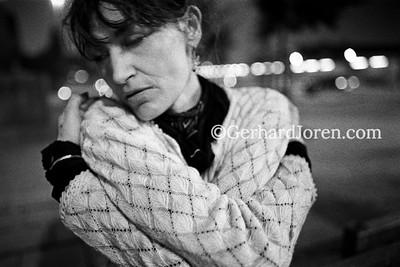 Britt, heroin user, Rotterdam