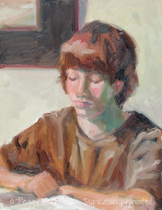 Younger Brother (Jake) 11x14  oil on canvas
