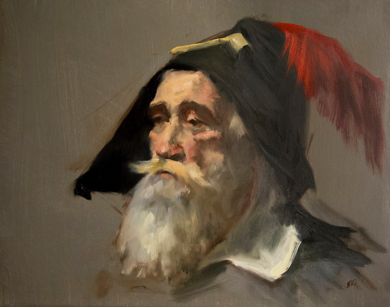 Steve (Dutch Man with Pipe)