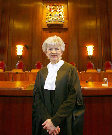 Beverly McLachlin, Chief Justice of the Supreme Court. Photo by Patrick Doyle.