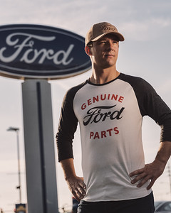 Promotional lifestyle images shot for Ford e-commerce merchandise website.