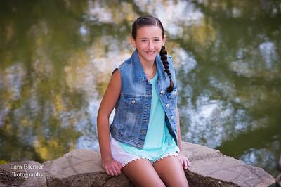 Juliet's Mitzvah Portrait ©Lara Bierner Photography