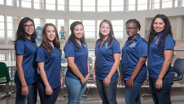 The Student Volunteer Connection had their portraits taken in the UC. Learn more about the SVC - http://svc.tamucc.edu/
