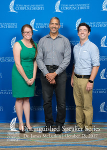 Texas A&M University-Corpus Christi proudly welcomed Google Senior Engineer Dr. James McLurkin to campus on October 18, 2017 as the featured guest for its Fall 2017 Distinguished Speaker Series.