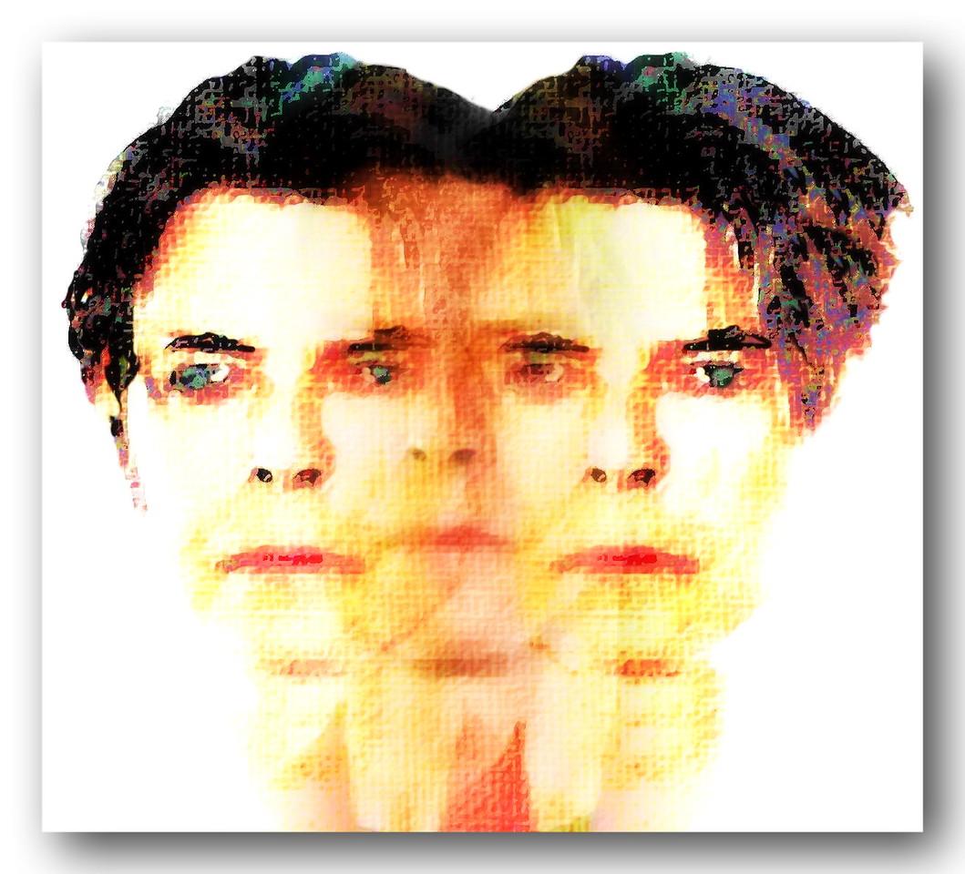 David Bowie - Triptych Portrait