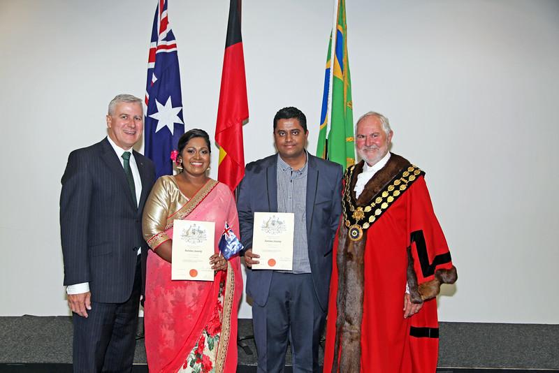 Edward and Shivani's Citizenship day photos - by Darryl's Photography, Wagga Wagga.