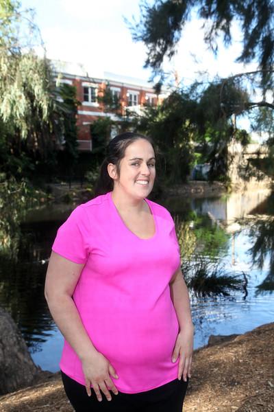 Kelli Boyton at the Wagga Wagga Teacher's College 70th anniversary.