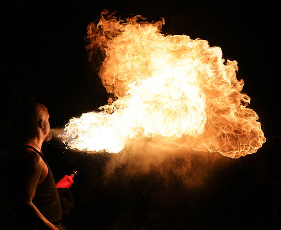 Fire Breather Dude