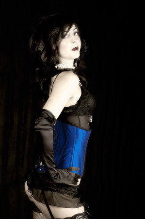 "The stunning Amy in a hand made corset from  <a href=""http://www.volancia.com"">http://www.volancia.com</a>"