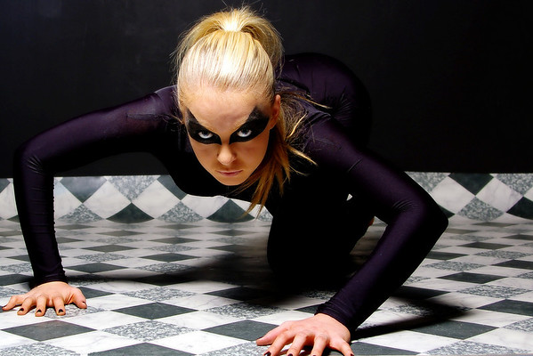 The Cameraclub were lucky enough to get an opportunity to once again take shots of the lovely Emily. It was an abstract themed night to try different ideas and looks and Emily looked fantastic in the catsuit and dramatic eye make-up.
