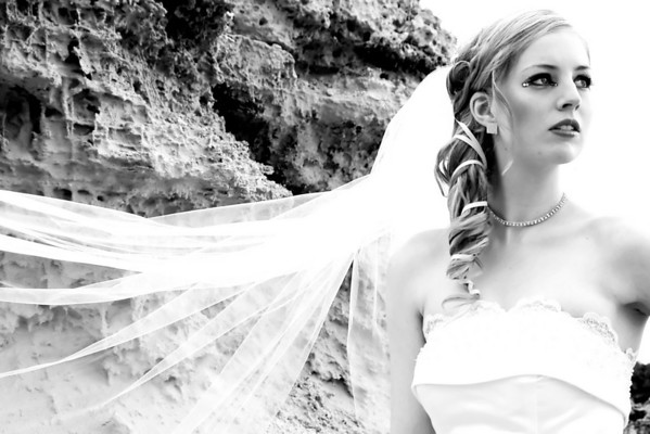 Bridal shoot at Point Peron