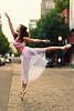 Ballerina on a Portland Street