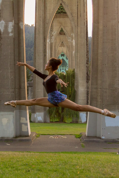 Jazmin Ballet Dancer St Johns Bridge-9319