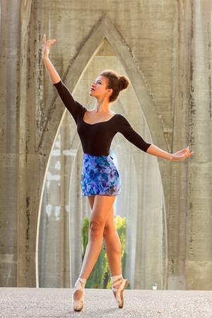 Jazmin Ballet Dancer St Johns Bridge-9140