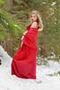 Vanessa in red dress