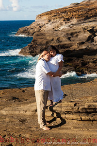 0M2Q6470-Sharon and Nathaniel Stillman engagement portrait-Blowhole-Sandy Beach-Oahu-Hawaii-September 2011-Edit-2-2