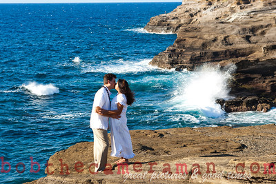 0M2Q6447-Sharon and Nathaniel Stillman engagement portrait-Blowhole-Sandy Beach-Oahu-Hawaii-September 2011-Edit
