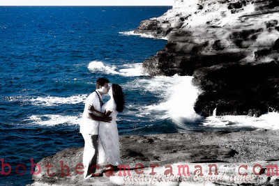 0M2Q6442-Sharon and Nathaniel Stillman engagement portrait-Blowhole-Sandy Beach-Oahu-Hawaii-September 2011-Edit-Edit