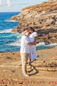 0M2Q6470-Sharon and Nathaniel Stillman engagement portrait-Blowhole-Sandy Beach-Oahu-Hawaii-September 2011-Edit