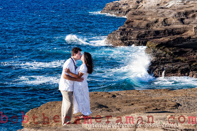 0M2Q6442-Sharon and Nathaniel Stillman engagement portrait-Blowhole-Sandy Beach-Oahu-Hawaii-September 2011-Edit-Edit-4-2