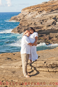 0M2Q6470-Sharon and Nathaniel Stillman engagement portrait-Blowhole-Sandy Beach-Oahu-Hawaii-September 2011
