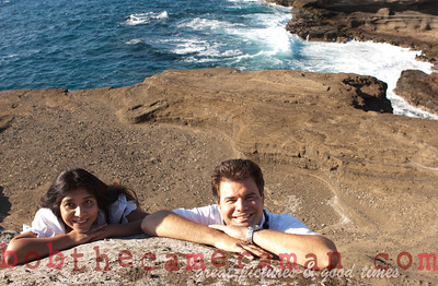 0M2Q6521-Sharon and Nathaniel Stillman engagement portrait-Blowhole-Sandy Beach-Oahu-Hawaii-September 2011