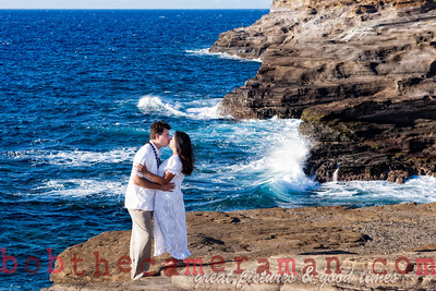 0M2Q6442-Sharon and Nathaniel Stillman engagement portrait-Blowhole-Sandy Beach-Oahu-Hawaii-September 2011-Edit-Edit-4