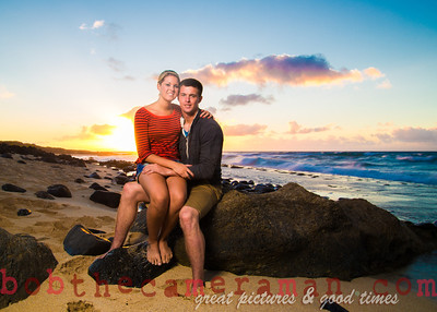 6M9A9110-Stephanie and Collin engagement pictures-Save The Date-Kaena Point-North Shore-Oahu-Hawaii-June 2012-Edit