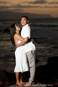 0M2Q9826-Jeffrey and Xania Engagement Portrait Session-North Shore-Rockpile-Oahu-Hawaii-March 2011