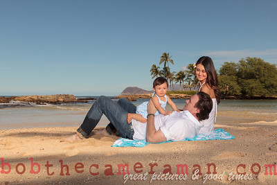 IMG_6673-Bocalbos Lommerin family portrait-Paradise Cove Public Beach-Oahu-October 2013