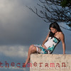 0M2Q8651-Karla-17 weeks-maternity portrait on the beach-Rockpiles-Oahu-Hawaii-March 2014