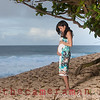 0M2Q8603-Karla-17 weeks-maternity portrait on the beach-Rockpiles-Oahu-Hawaii-March 2014
