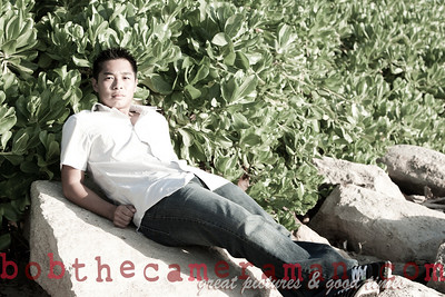 0M2Q0646-Micah Senior Portrait-Ko Olina-Honouliuli Ahupuaa-Oahu-Hawaii-March 2011