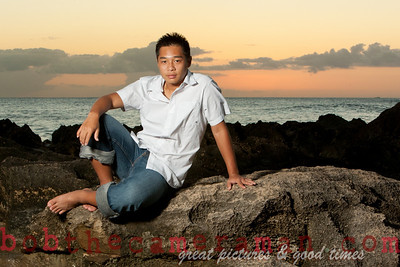 0M2Q0747-Micah Senior Portrait-Ko Olina-Honouliuli Ahupuaa-Oahu-Hawaii-March 2011