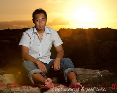 0M2Q0671-Micah Senior Portrait-Ko Olina-Honouliuli Ahupuaa-Oahu-Hawaii-March 2011
