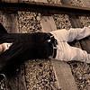 Laying on tracks ColorBurn LowSat Warm
