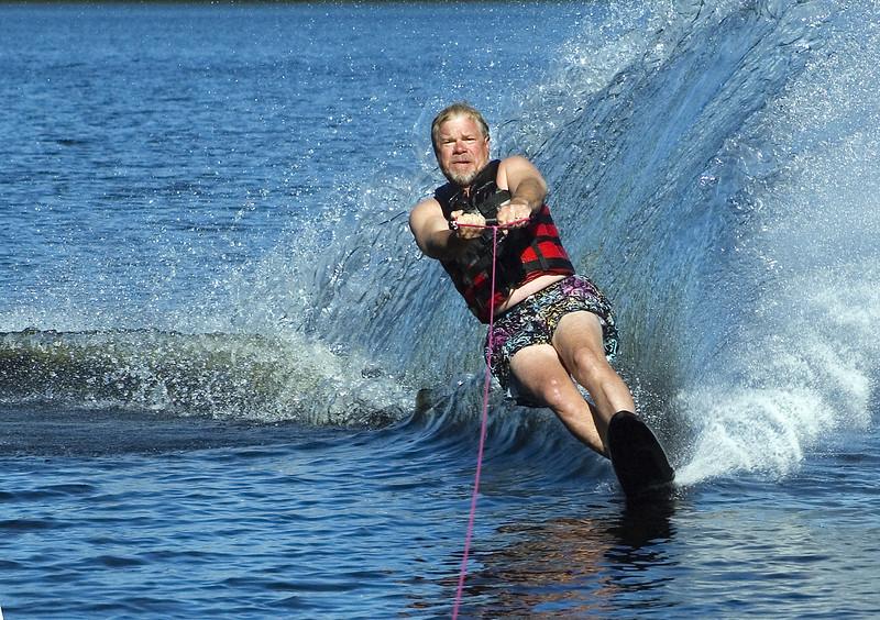 Gary Waterskiing<br /> Nordheim<br /> August, 2005